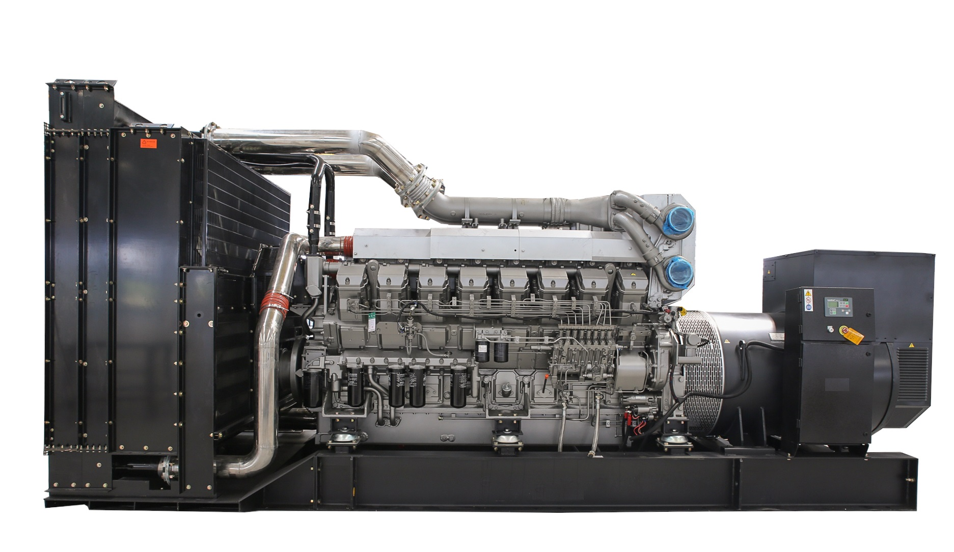 Diesel Generator Cooperated With Mitsubishi Engines M Series Wiring Diagram Ss Sm Select Heavy Duty Engine For Its Low Capitsl Investment And Reliable Solution High Power Emergency Standby